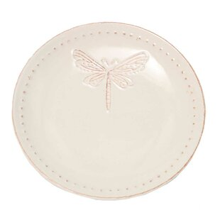 8\  Dragonfly Salad Plate (Set of 4)  sc 1 st  Wayfair & Decorative Plates Set Of 4 | Wayfair