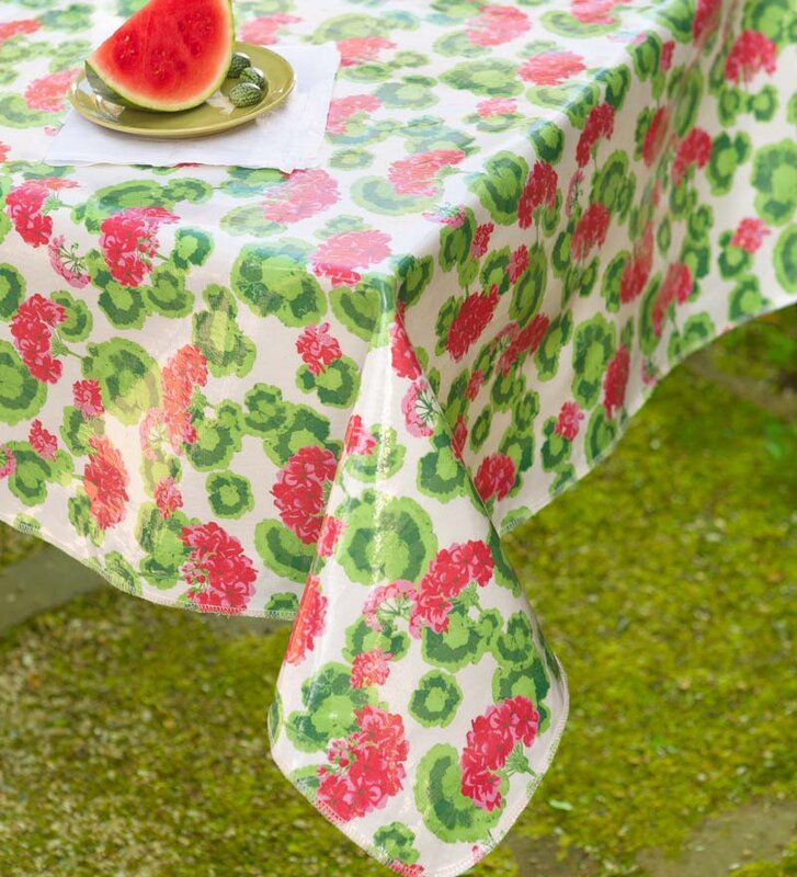 Oilcloth Round Tablecloth