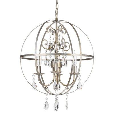 Amalfidecor Luna 4 Light Globe Chandelier Reviews