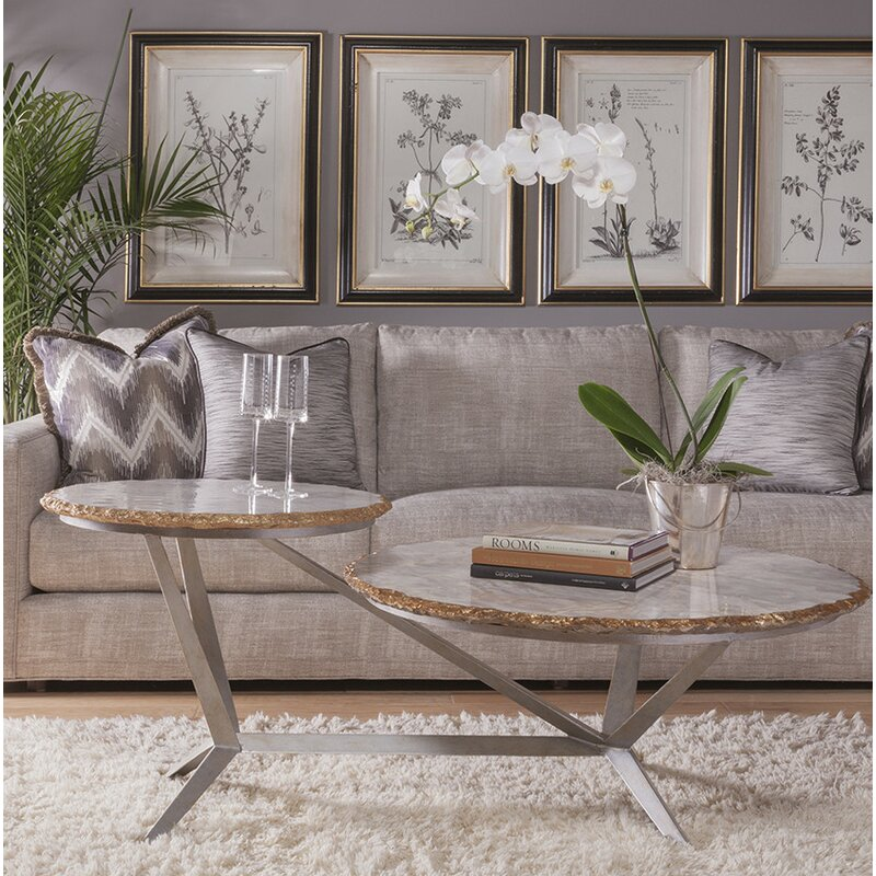 Merveilleux Signature Designs Tiered Coffee Table