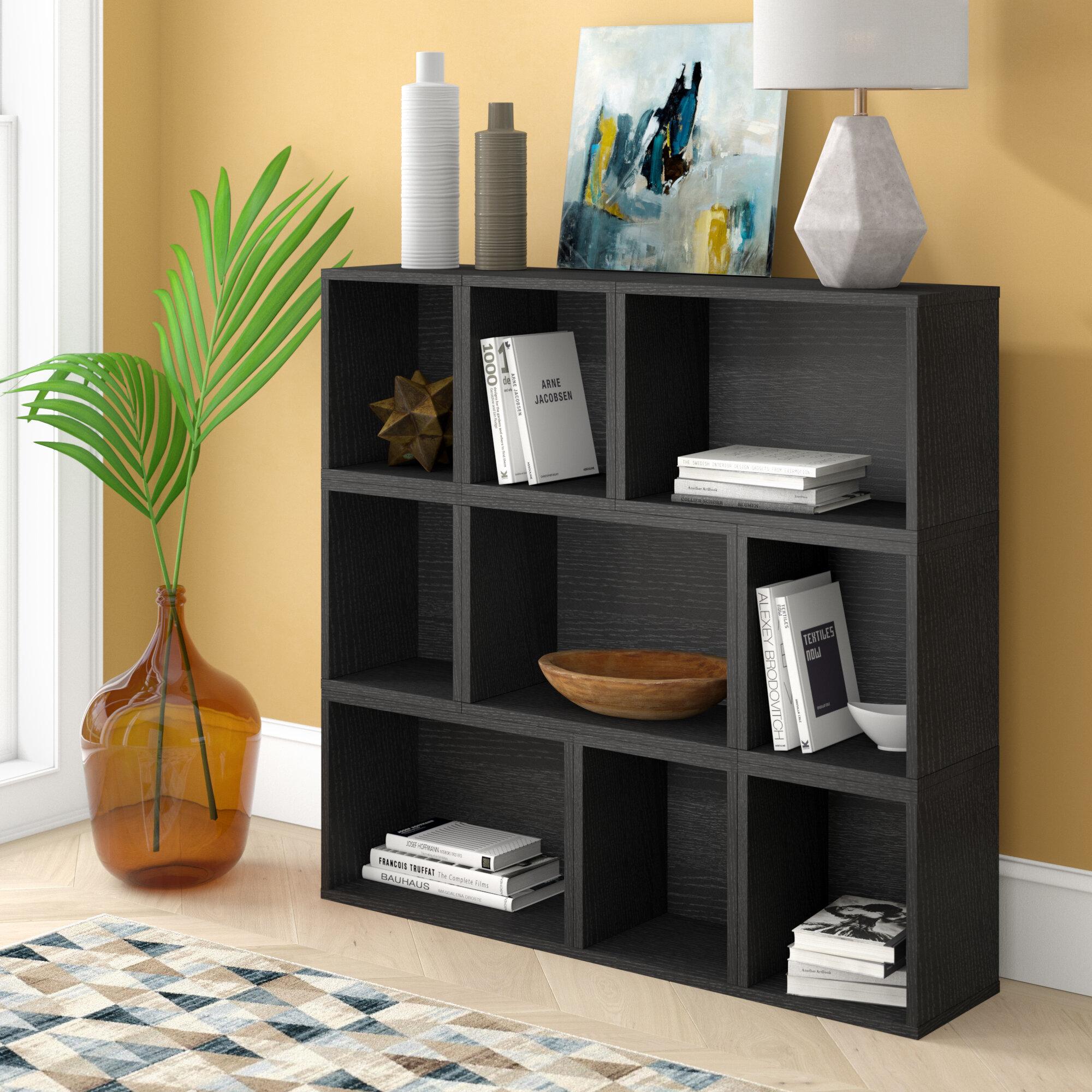 Brayden studio beckmann oxford modular organizer cube unit bookcase reviews wayfair