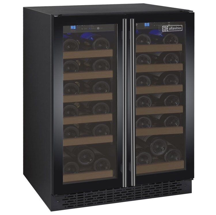 Allavino 36 Bottle FlexCount Series Dual Zone Convertible Wine Cooler