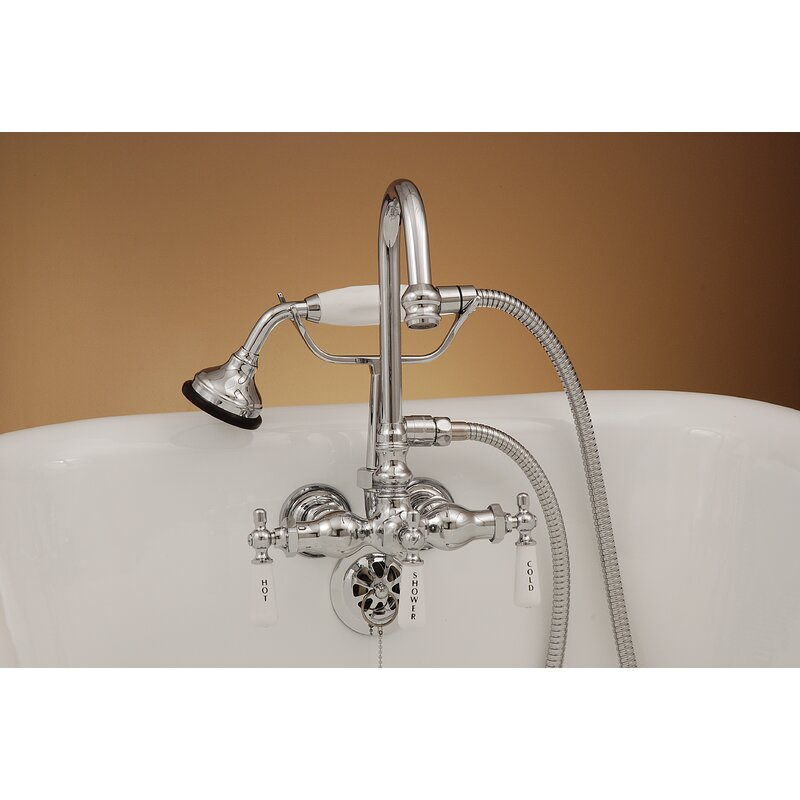 Strom Plumbing by Sign of the Crab 3 Handle Tub Diverter Faucet ...
