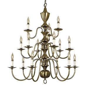 Jamestown 15-Light Candle-Style Chandelier