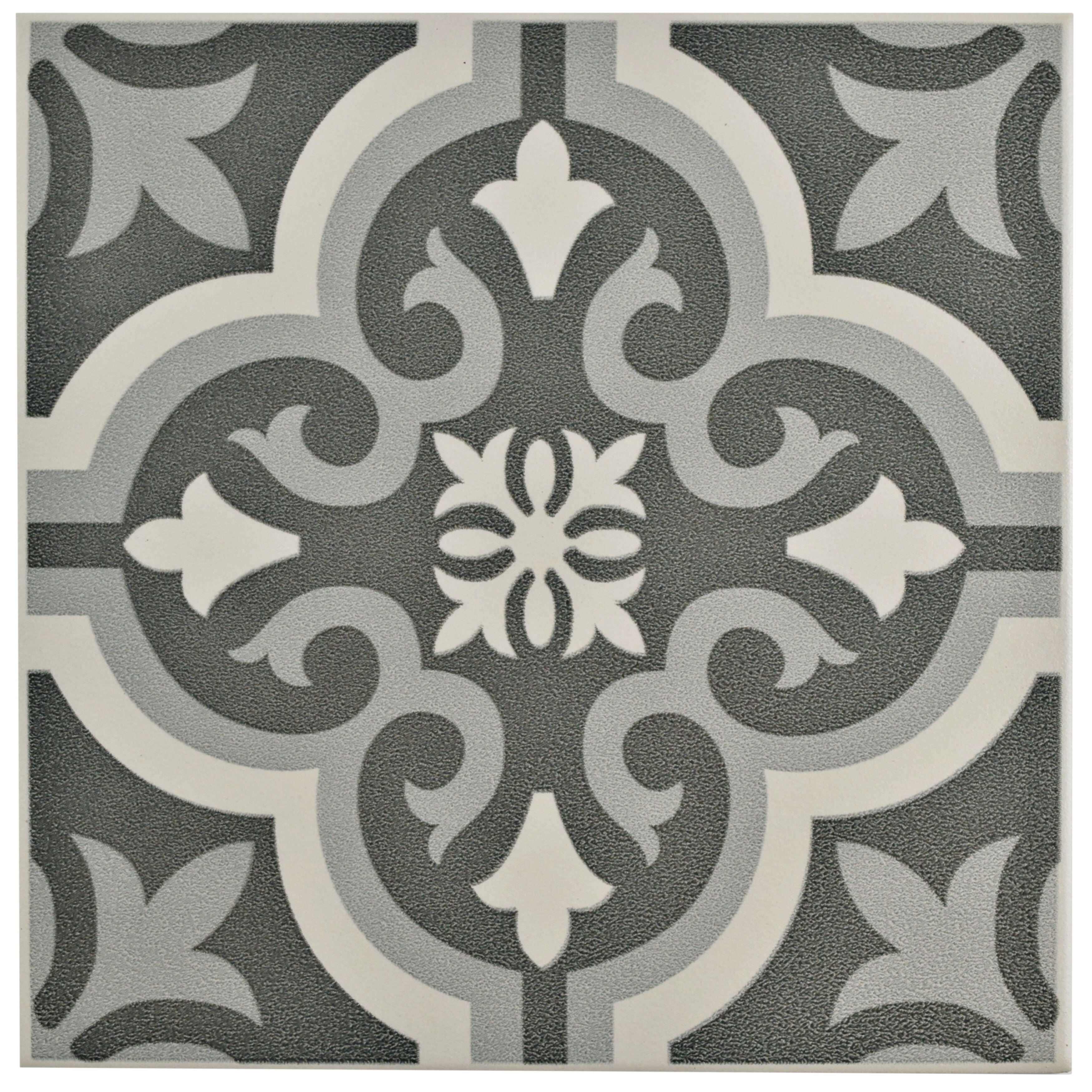 Elitetile sample lima ceramic tile in black reviews wayfair dailygadgetfo Choice Image