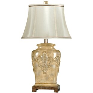 Fleur de lis table lamp wayfair fleur de lis 28 table lamp aloadofball Choice Image