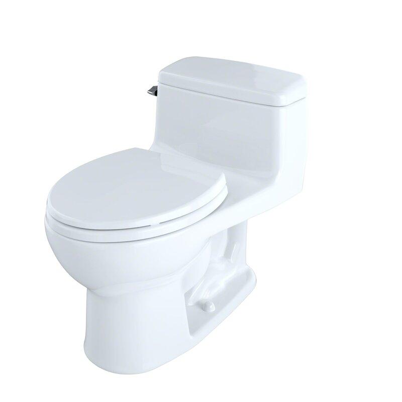 SupremeR Eco 128 GPF Round One Piece Toilet