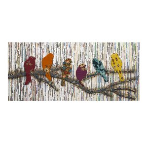 Vintage Bird Wall Du00e9cor
