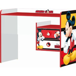 Arinna Mickey Stripes 100cm W Writing Desk by Zoomie Kids