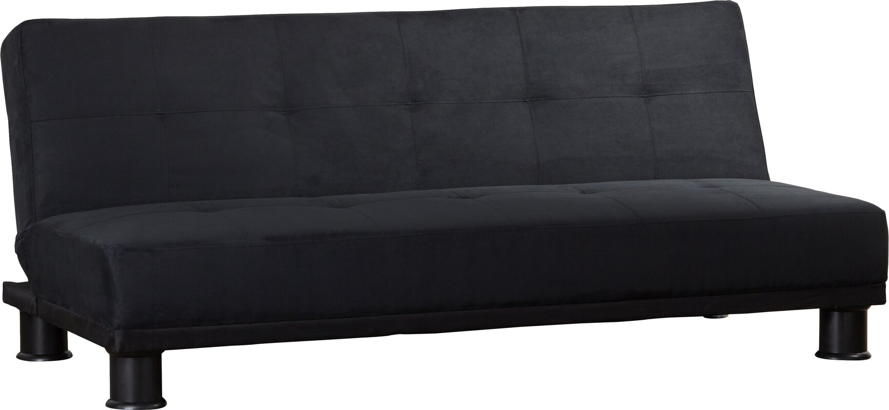 sofa beds with good mattress 3 seater clic clac sofa bed in grey maisons du monde thesofa. Black Bedroom Furniture Sets. Home Design Ideas