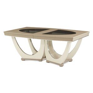Overture Rectangular Dining Table by Michael Amini (AICO)