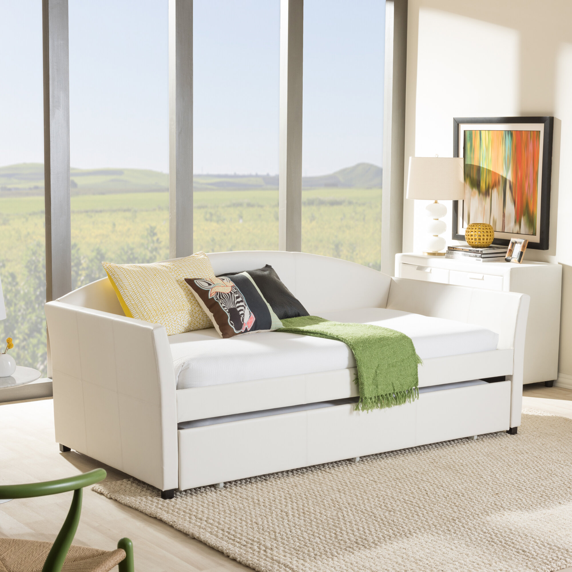Wholesale Interiors Baxton Studio Daybed with Trundle & Reviews ...