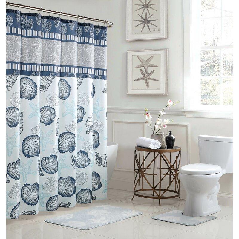 Bath Fusion Island Shower Curtain Set Reviews