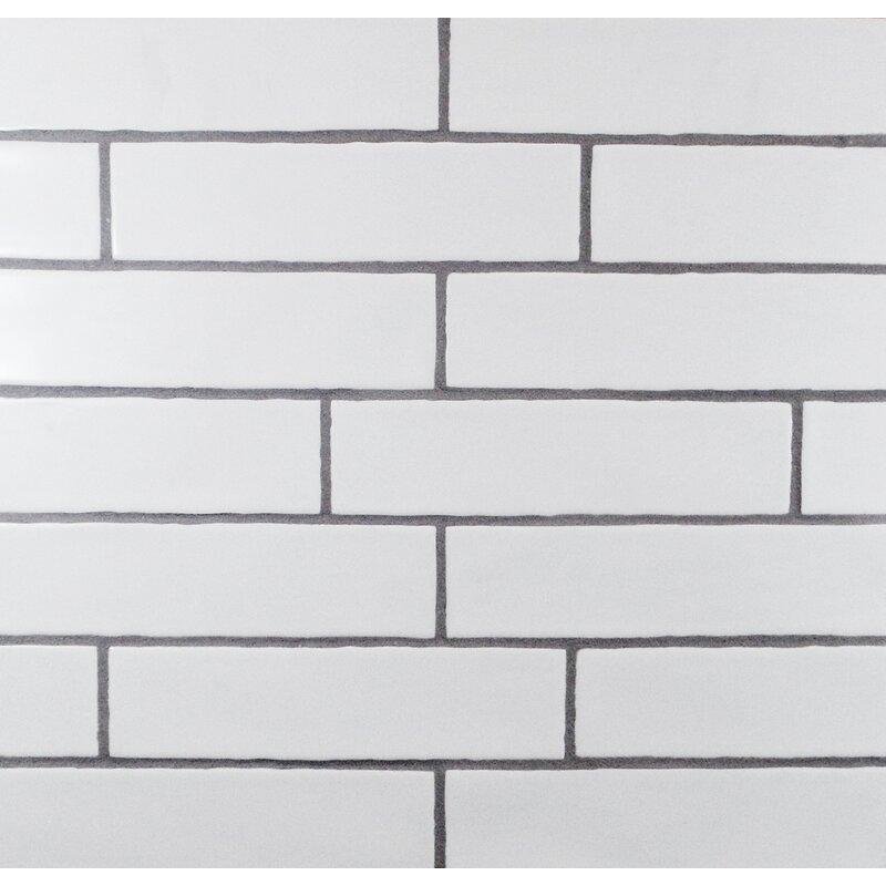 Hills Wavy Edge 3 X 12 Subway Tile In Matte White