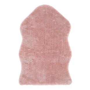 Shag Pink Rug by Andiamo