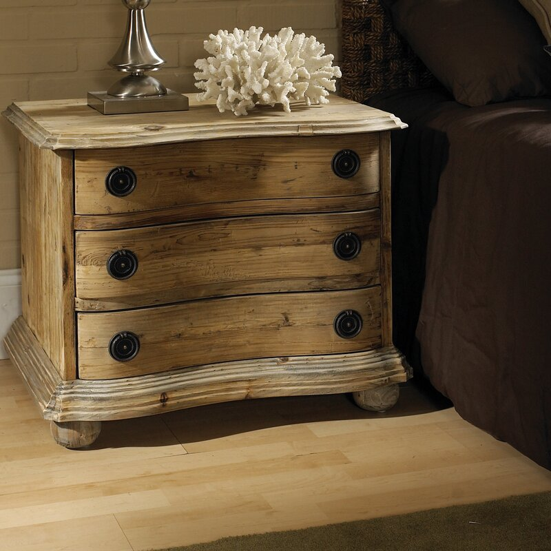 Salvaged Wood 3 Drawer Bachelor S Chest