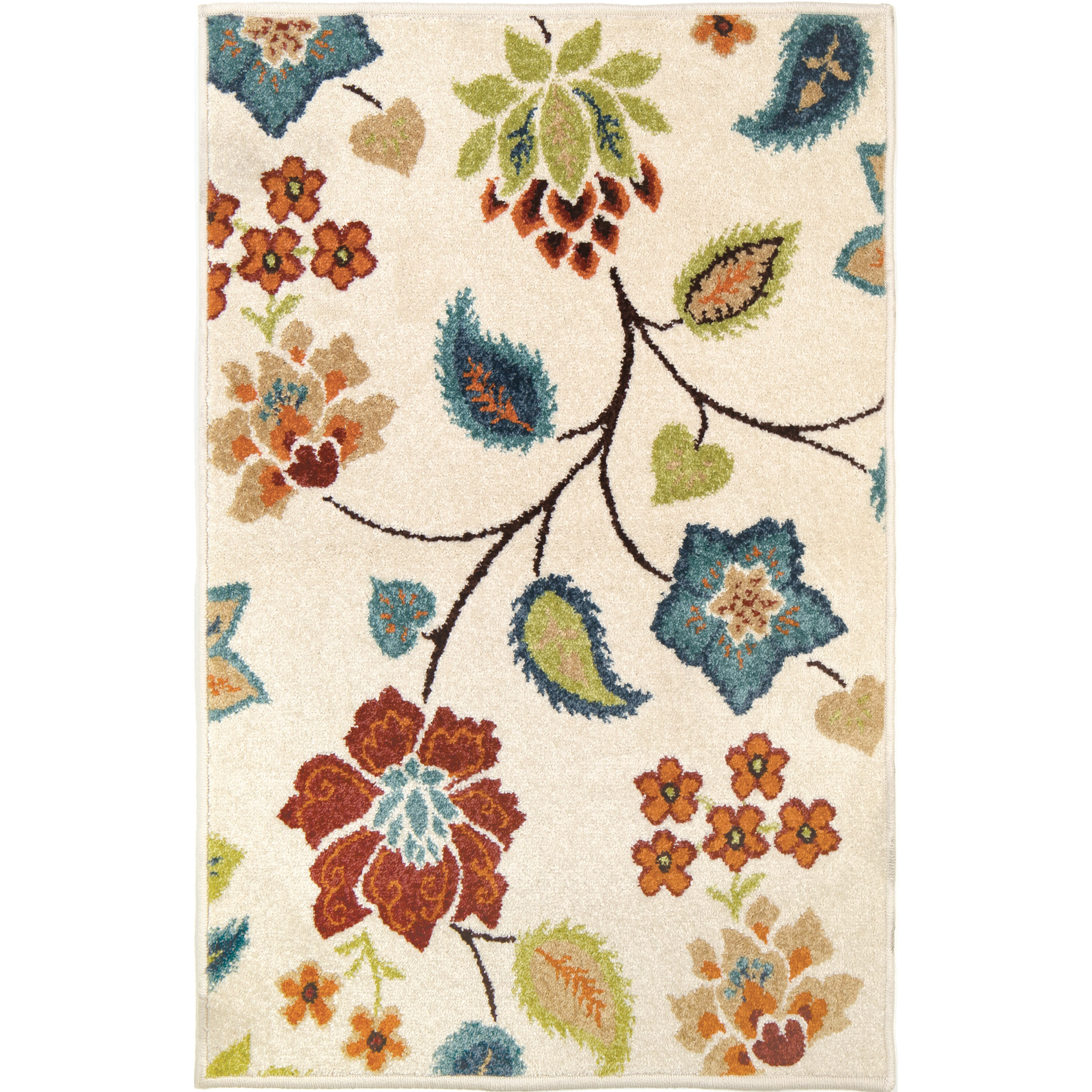 Andover Mills Caffey Cerulean Bluetaupe Area Rug Products