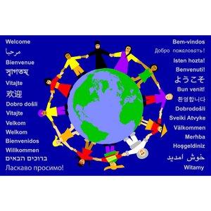 Multi-Cultural Nation Kids Rug