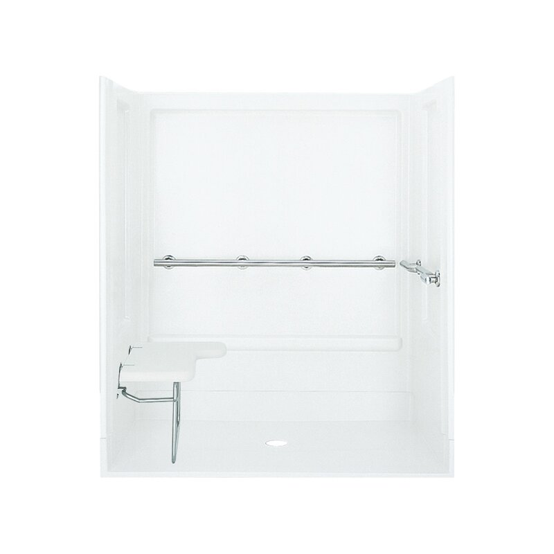 ADA Shower Kit with Seat on Left
