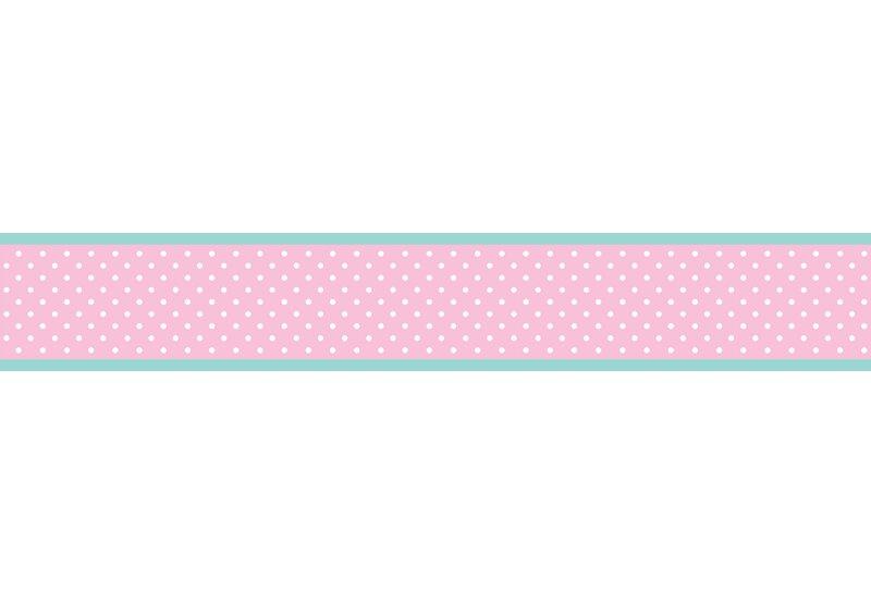 sweet jojo designs skylar 6 x 15 polka dot border wallpaper wayfair