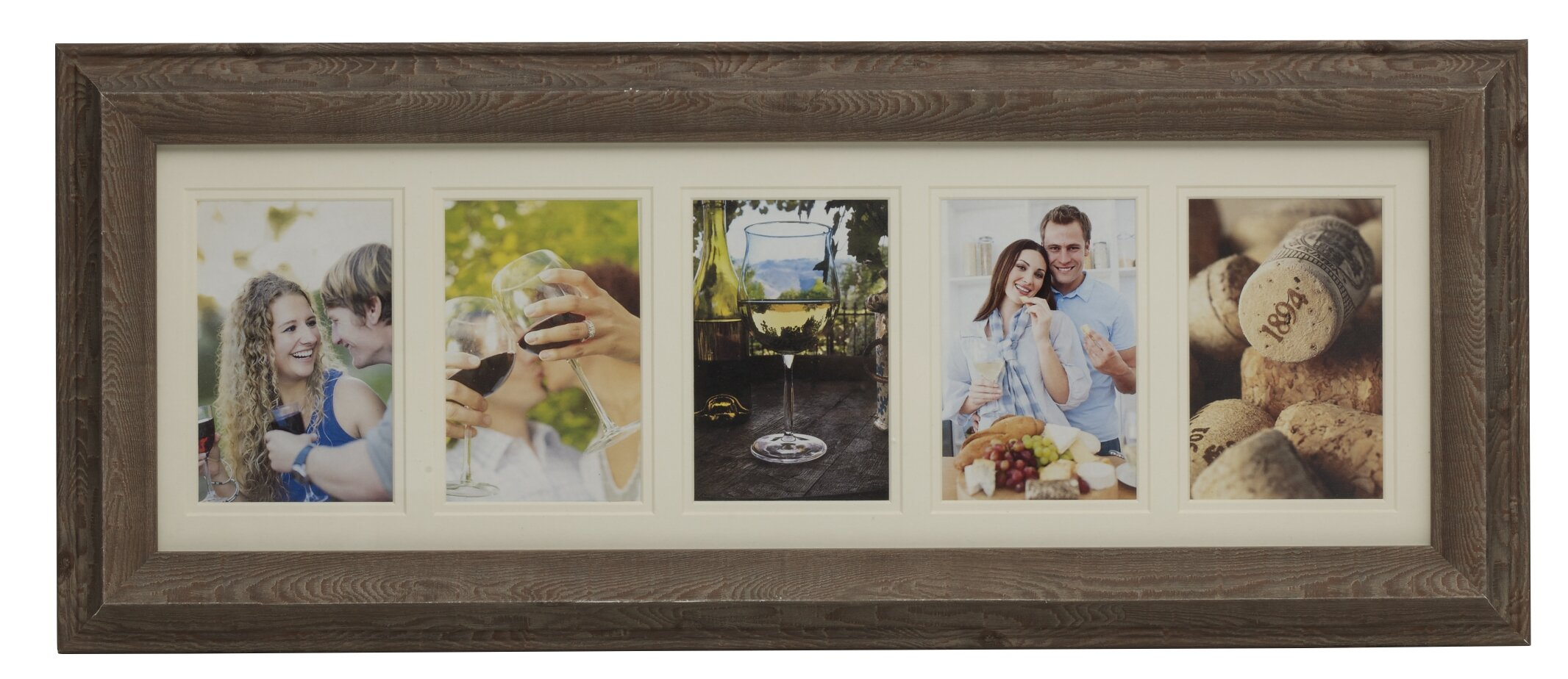 Melannco 5-Opening Plastic Collage Picture Frame & Reviews | Wayfair
