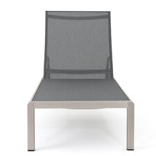 lacon outdoor mesh chaise lounge