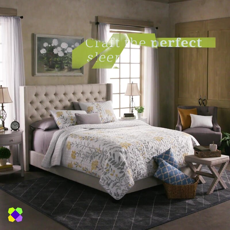 High Quality Declare Upholstered Panel Bed