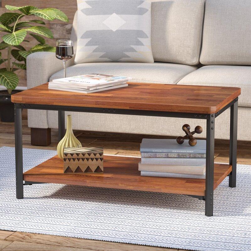 Modern Farmhouse Coffee Table: Laurel Foundry Modern Farmhouse Eliza Coffee Table