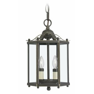 Alvordton 2-Light Foyer Pendant