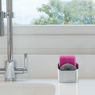 Sponge holders kitchen sink accessories youll love eisele scrub hub workwithnaturefo