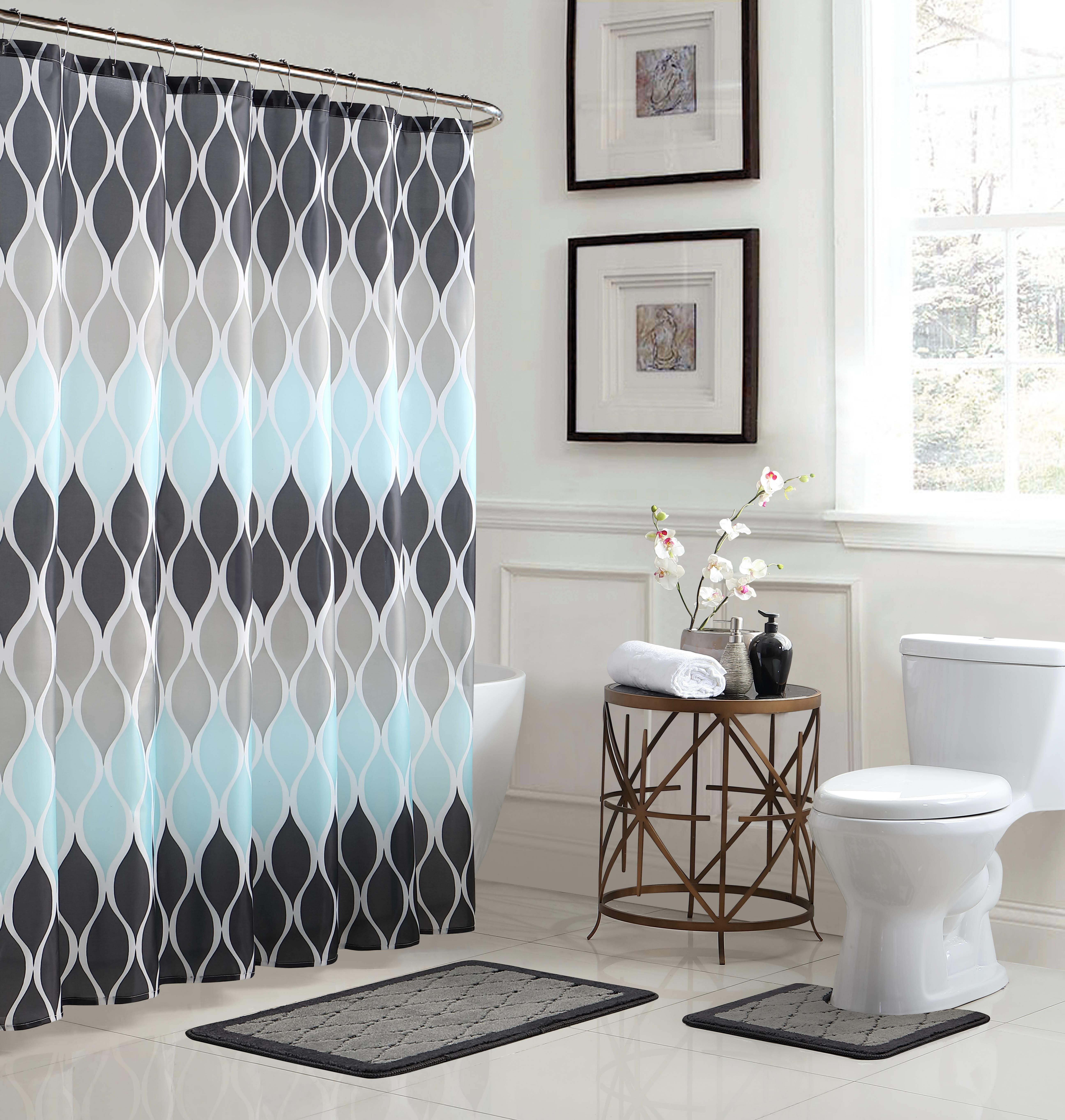 Bath Fusion Clarisse Shower Curtain Set Reviews