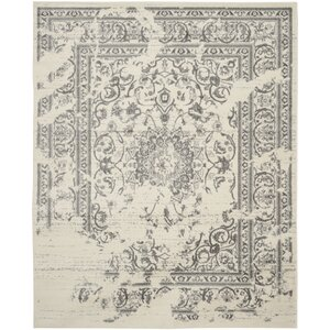 Glover Ivory/Silver Area Rug