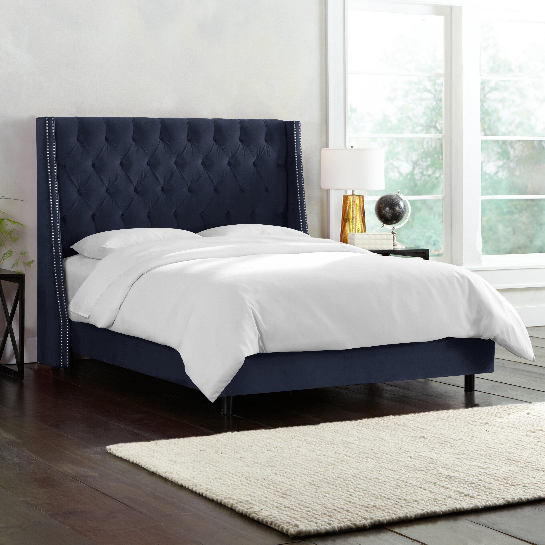 Skyline Furniture Costello Upholstered Panel Bed U0026 Reviews | Wayfair