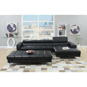 Manhattan Reclining Sectional by Infini Furnishings