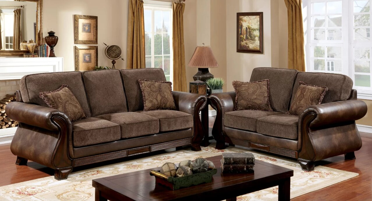 Fleur de lis living tilley configurable living room set wayfair
