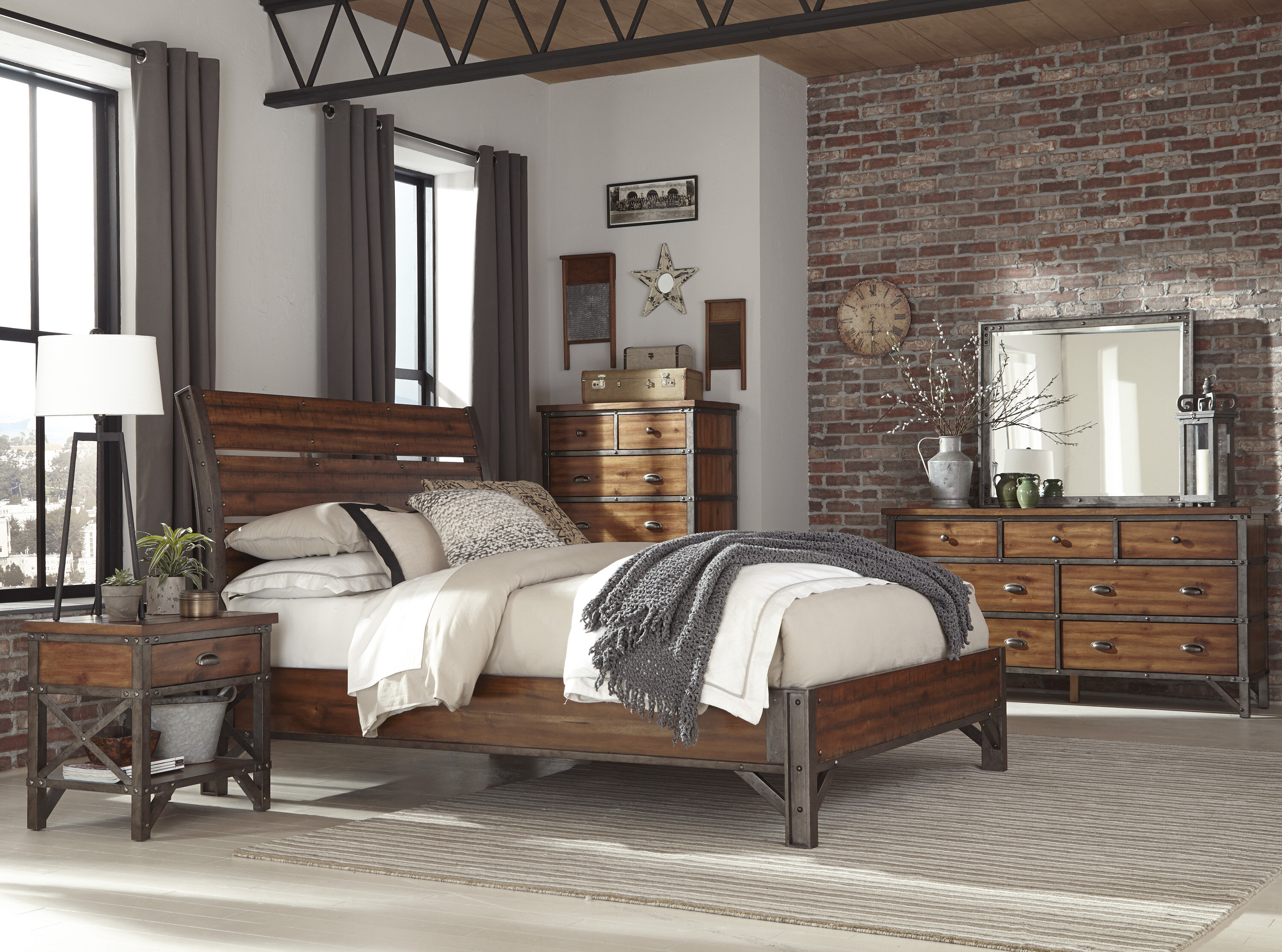 Haverhill California King Platform Configurable Bedroom Set