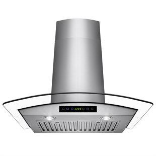 flush mount vent hood 30 flush ceiling range hood wayfair