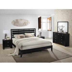 Good Gloria Platform 5 Piece Bedroom Set