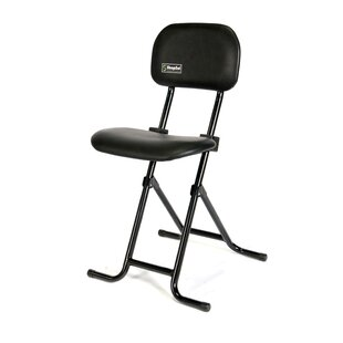 Height Adjustable Folding Sit Stand Stool