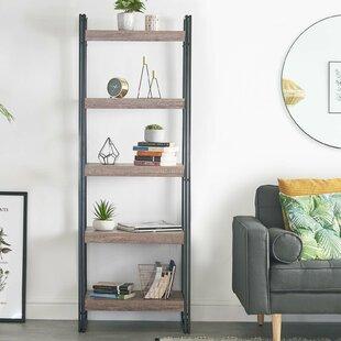 Brackin 5 Tier Ladder Bookcase