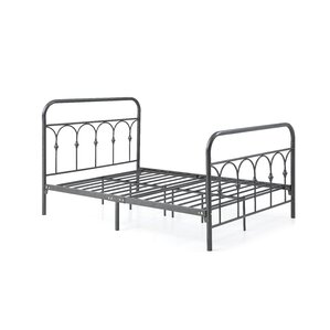Boris Metal Platform Bed by Gracie Oaks