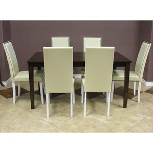 Blazing 7 Piece Dining Set by Warehouse o..