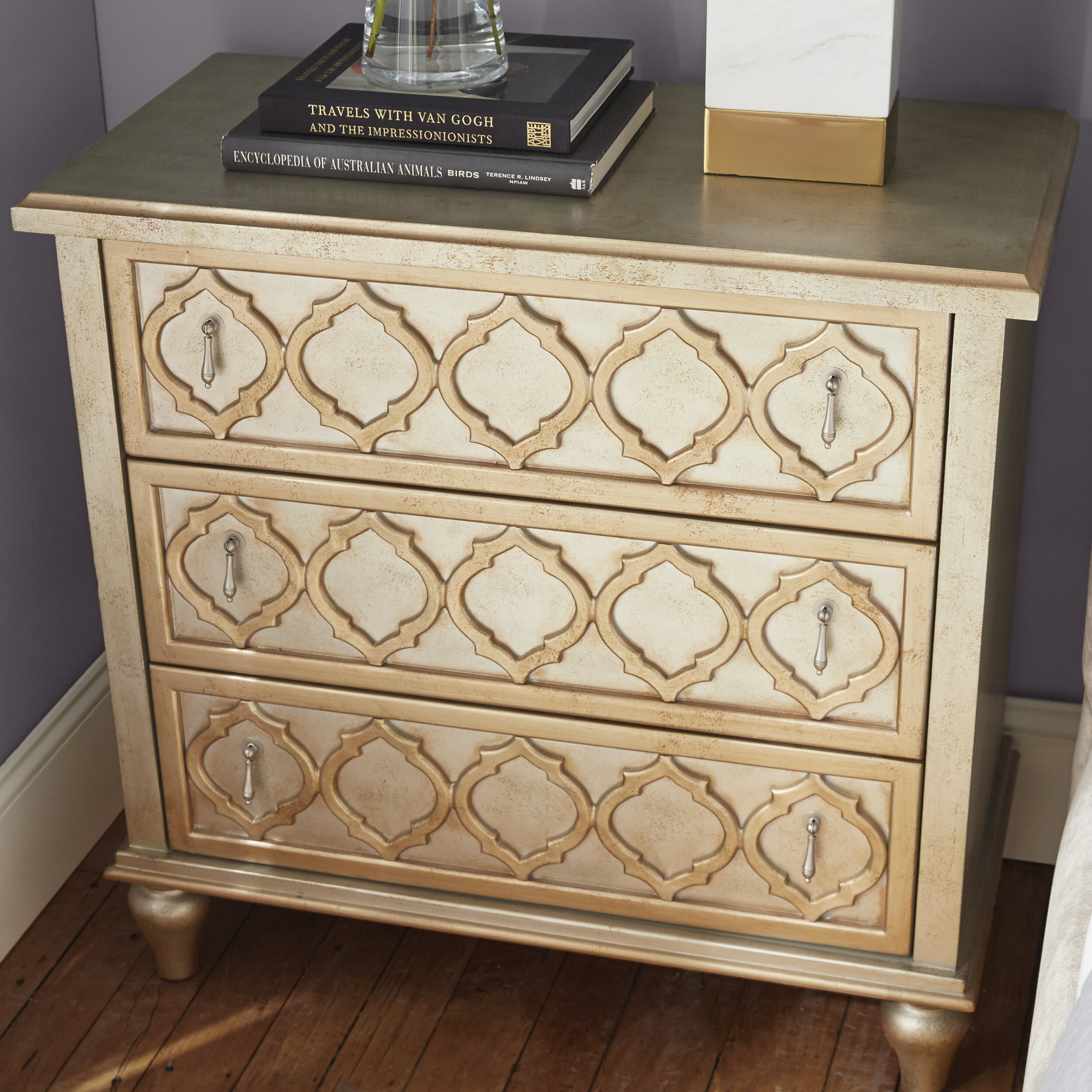 zoom table drawer brown accent end in esquire