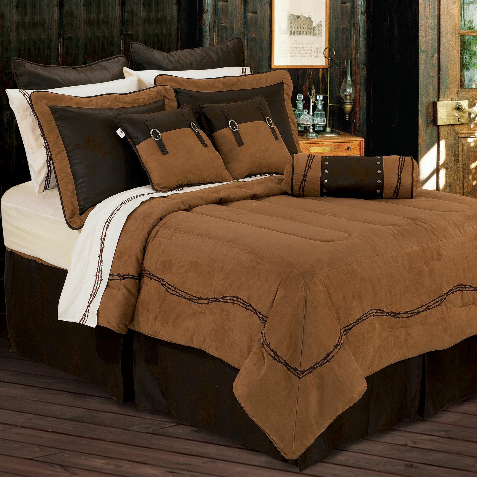 Loon Peak Galyean Solid Embroidered Comforter Set Reviews Wayfair