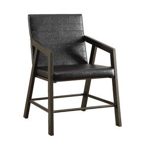 Hallatrow Mid Back Leather Desk Chair