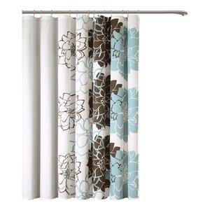 Broadwell Cotton Shower Curtain