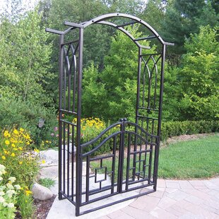 Royal Steel Arbor With Gate