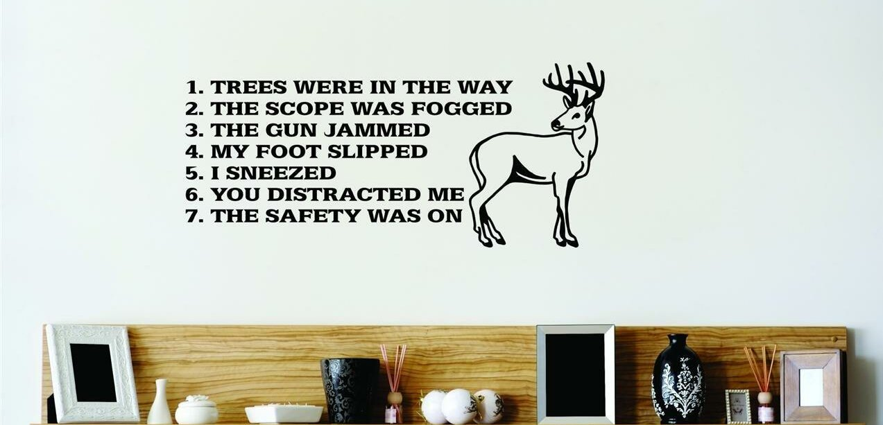 Charmant Hunting Wall Decal