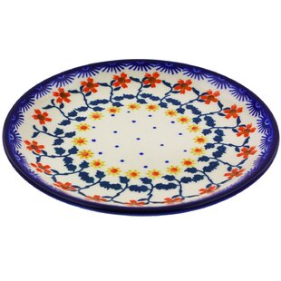 Polish Pottery 7\  Dinner Plate  sc 1 st  Wayfair & 7 Inch Dinner Plate   Wayfair