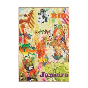 Flash Flatweave Green/Orange Rug by Kayoom